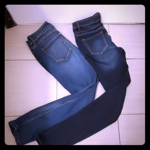 Used Women's Jeans Lot Size 2-3